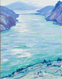 lago di lugano by dirk filarski