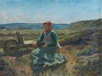 pescadora by ventura alvarez sala
