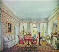 fanny holden's room, passy, near paris by fanny holden