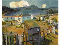 tiburon highway along the lagoon by selden connor gile