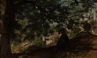 landscape by jacob henricus maris