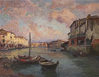 le vieux port de martigues by paul simons