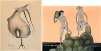 magisch bouwen (+ de mannequin en haar prins, 1971; 2 works) by paul louis boon