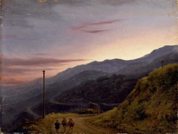 montagna allimbrunire by massimo dazeglio