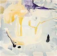 all of it left him swinging swaying like a giant bug eyed grasshopper (within the luscious paintings of dale frank layers of pigmented) by dale frank