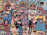 le marchand ambulant by fatna gbouri