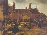 fish market by sybrand van beest