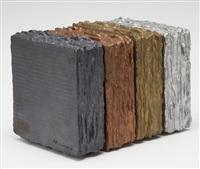 quatre blocs de blank a noir by hisahi momose