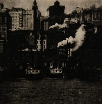the battery, new york by alvin langdon coburn