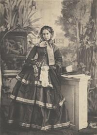 portrait d'une parente dans le même décor by olympe (count) aguado