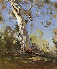 morning (the white gum) by theodore penleigh boyd