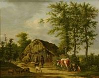 pastoral landscape by anthony oberman