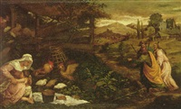 the journey to emmaus by giambattista da ponte bassano
