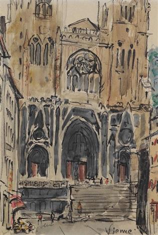 kathedrale von vienne by hans olde