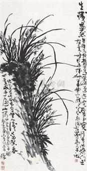 兰石图 by xiao longshi, xu linlu and li kuchan