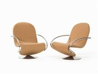 1-2-3 lounge chair by verner panton