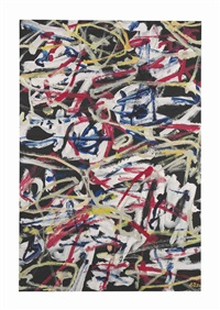 champ d'expansion by jean dubuffet