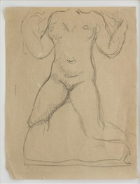 untitled - torso by aristide maillol