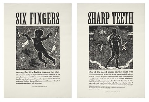 six fingers sharp teeth 2 works by walton ford