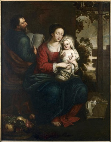 la sainte famille by sir peter paul rubens