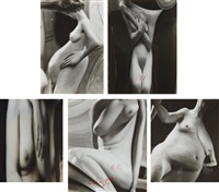 selected distortions (5 works) by andré kertész