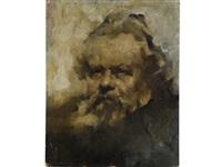 ritratto di giosuè carducci by giuseppe amisani