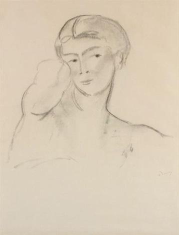 nu féminin by andré derain