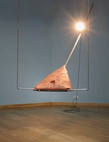 scultura per purificare le parole by gilberto zorio