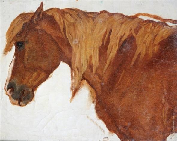 portrait de cheval by théodore valerio
