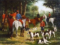 chasse à courre by louise abbéma