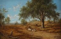 yan yean landscape by henry c. gritten