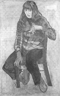 la femme à la cigarette by rodica valeanu