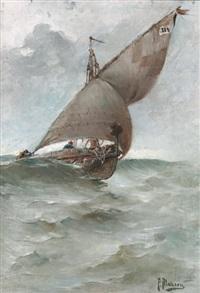 bateau de pêche by felix alarcon