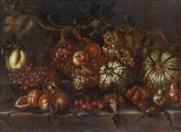 stillleben mit früchten by agostino verrocchi