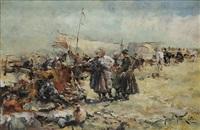 in the camp by jaroslav friedrich julius vesin