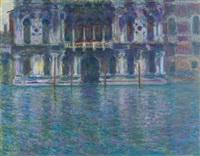 le palais contarini by claude monet