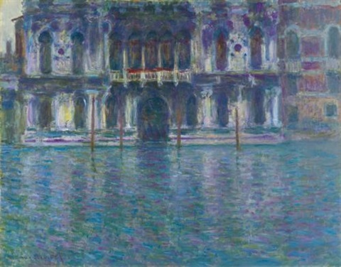 le palais contarini by claude monet