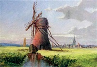 marsh mill, near yarmouth by anthony sandys