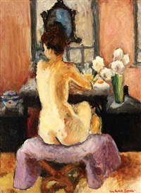 nude in the mirror by nina batalli-cosmovici