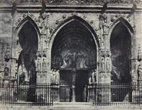 porche de st-germain-l'auxerrois à paris by francois alphonse fortier
