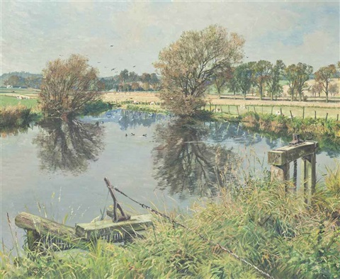 the mill stream benvie angus by james mcintosh patrick