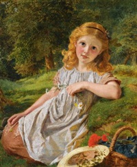 summer flowers by sophie anderson
