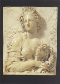 allegory of spring by francis van bossuit