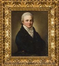 portret heinricha ludwiga hrabiego zu lynar by anton graff
