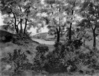 landschaft by fritz rocca-humpoletz