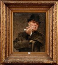portrait (david oyens?) by pierre (pieter) oyens