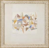 kompozycja abstrakcyjna by maria ewa lunkiewicz-rogoyska