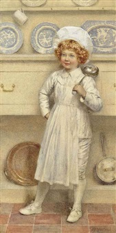 the young chef by edward frederick brewtnall