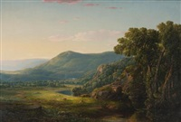 morning in the alleghenies by william louis sonntag