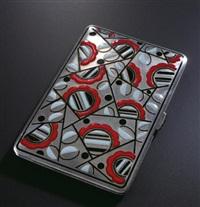 cigarette case by atelier pomone